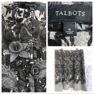 Stunning Talbots Wool Blend Skirt- Size 6